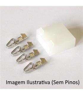 Ficha Pin Socket Grande 6 Pinos - 69PSG6
