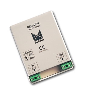 Amplificador de sinais audio e video. Sistema 2 fios - REG-054