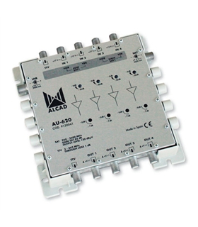 Amplificador de cabeceira para multicomutadores 4 polarid. - AU-620