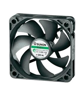 Ventilador 12V 70x70x15mm 8.4W c/ 4 Fios - V127E4F