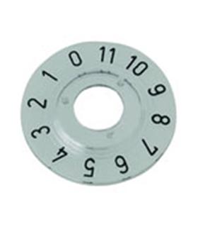 Escala para botão Potenciometro Rotativo Cinza - SK20T