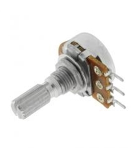 Potenciometro Linear Com Veio Metalico 22K - 162022KM