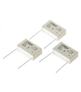 Condensador Poliester X2 0.68uF 275Vac - 316680F