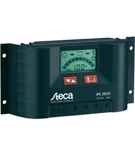 Steka PR2020 - Controlador Carga Solar 12/24V 20A com Lcd - PR2020LCD