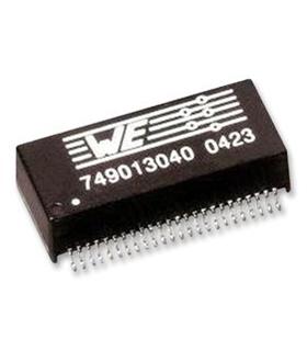 749013021 - Transformer, LAN, PoE, 2 Port, 10/100 Base-T - 749013021
