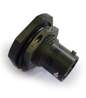 Conector Circular Serie 62GB 2 Conectores Femea - 62GB57T1002SN