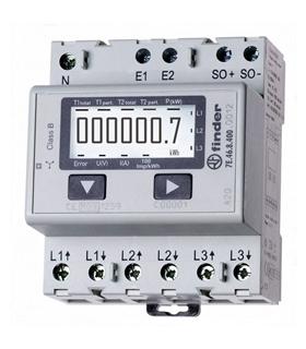 7E.46.8.400.0012 - Contador de Energia LCD trifasico - 7E4684000012