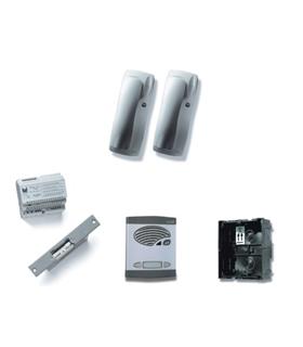 Kit de 1 pulsador duplo, com sistema Digital a 2 fios - KAD-47001