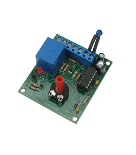 Módulo termostato 12VDC +5..+30ºC - VM137
