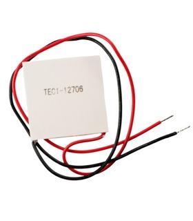 TEC1-12706 - Modulo Peltier 14.9V 53W 40x40x3.8mmm - TEC1-12706