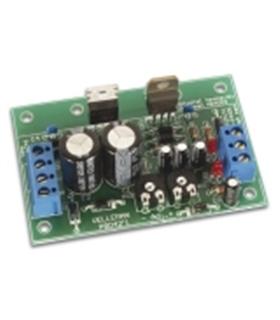 Kit de montagem fonte alimentação simétrica 1.2..24VDC 2x1A - K8042