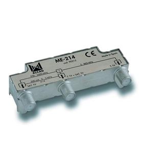 Misturador /separador 2 entradas, TV-SAT c/ PC - ME-214