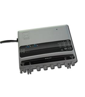1 entrada, 1 saida, UHF/VHF/BS-VR 5-65MHz - CF-115