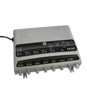5 entradas, 2 saidas, UHF-UHF-BIII-BI-FM, compativel LTE, - CA-541