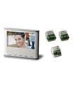 Conjunto monitor cores mãos livres adicional MVC-130