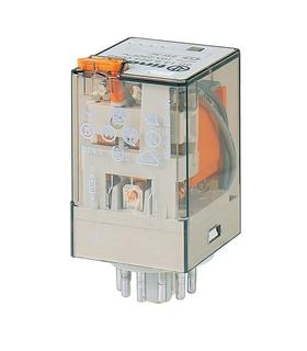 60.13.8.024.030 - Relé Finder 24V AC 3Inv. 10A - F60138024