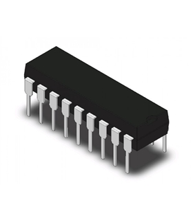MCP23008-E/P - I/O Expander 8 Bit, 1.7MHz, DIP18 - MCP23008-E/P