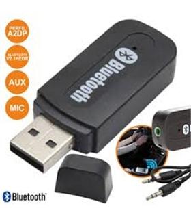 USBCARBT01 - RECEPTOR ÁUDIO BLUETOOTH C/ CABO AUX - USBCARBT01