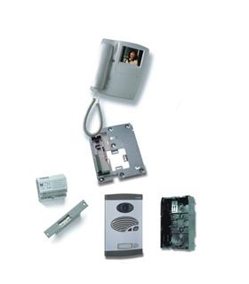 Kit de 1 botao, sistema digital 4 fios + coaxial cores - KVS-47201