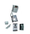 Kit de 1 botao, sistema digital 4 fios + coaxial cores