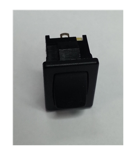 Interruptor Basculante On/Off Pequeno - Preto - 914BP