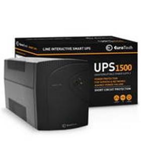 UPS1500EU - SMART UPS 1500VA / 900W 1USB 2RJ45 3SCHUKO - UPS1500VA