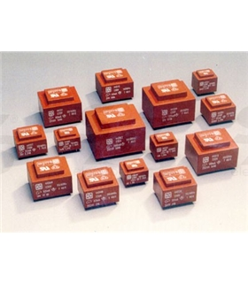 Transformador Isolado 230V 2x0-12V 10Vas Circuito Impresso - T212D10CI