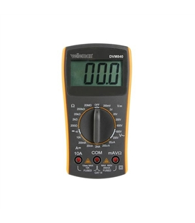 DVM840 - Multimetro Digital de 3 1/2 - 19 Escalas - DVM840