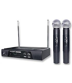 Conjunto 2 Microfones sem Fio VHF - KWM11A