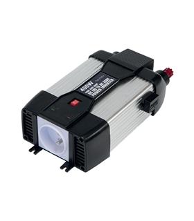 PSW6042U - Inversor Corrente 12V 230Vac 400W Onda Pura - GYS027121