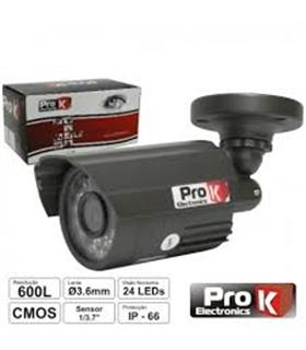 """CVC027LA - Camera Vigilancia Cmos Cores 600L 1/3.7"""" - CVC027LA"""