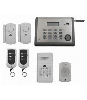 Kit Alarme S/Fios Daxis com Comunicador Gsm - ES0302