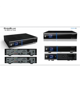 Receptor de Satelite Gigablue HD800 UE PLus - HD800UE+
