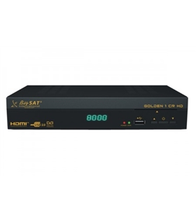 Receptor Digital Satelite BigSat Golden 1 Cr HD - RP0297
