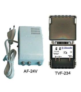 KIT-534 - Kit Amplif. mastro TVF234 + alimentador AF-24V - KIT534