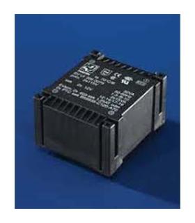 T209D24CI - Transformador 220V Para 2x0-9V 24Vas - T209D24CI