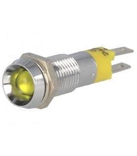 Indicador LED 8.2mm Amarelo - SWBU08114