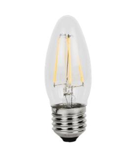 Lampada Led A60 E27 8W 3000K com Filamento - LL045/8FGD