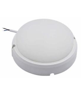 Painel LED Redondo Aplique 12W 160mm 900lm Branco Frio - APLR1216CW