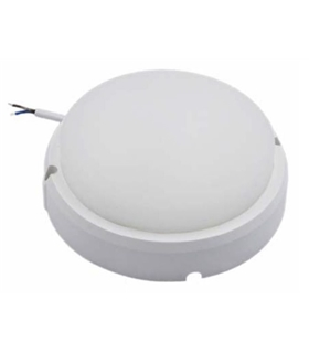 Painel LED Redondo Aplique 18W 175mm 1350lm Branco Natural - APLR1817NW