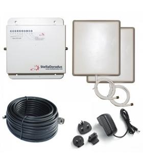 SD-RP-1002-LG - Repetidor Dual GSM 4G 800MHz 900MHz Stella - SD-RP1002-LG