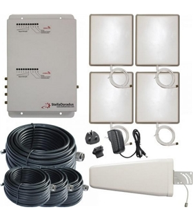 SD-RP-1002GW-4 - Repetidor Dual 900MHz 2100MHz Stella Office - SD-RP-1002GW-4