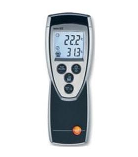 Testo 922 - Termometro 2 Canais, -50°C to +1000°C - TESTO922