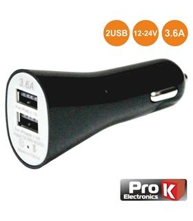 PKAUS05B - Adaptador Isqueiro 12-24V para Usb 5V 3.6A - PKAUS05B
