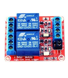 MXRL00212 - Modulo 2 reles 12V - MXRL00212