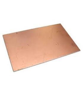 Placa de Epoxi 100x160mm 0.8mm espessura - PE100160-0.8