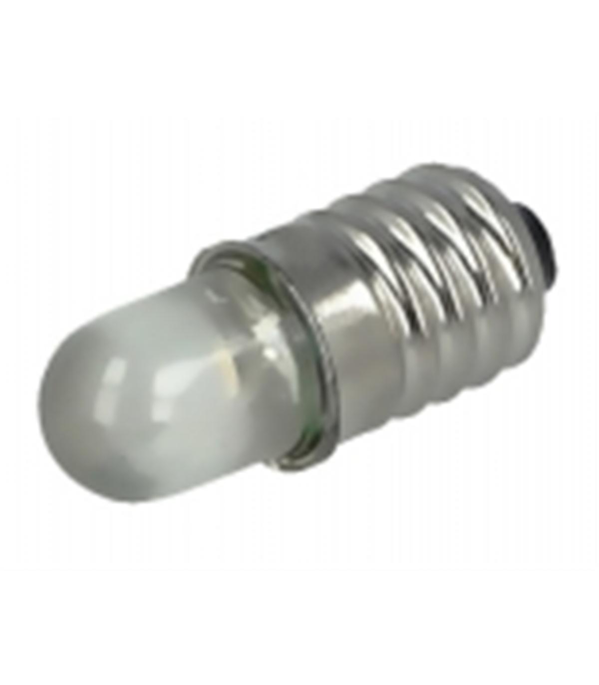 lâmpada miniatura led e10 3000k(branco quente) - 3-12v
