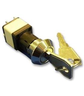 SRLM-5-Q-S - Interruptor Chave DPST, Off-On 4A 250V - SRLM-5-Q-S