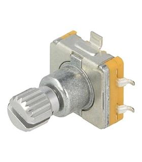 EC11E1215P30CSW - Encoder Incremental 15imp/rot Com Botao - EC11E1215P30CSW