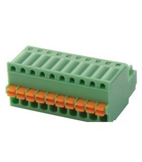 FK-MC 0.5/10-ST-2.5 - Pluggable Terminal Block, 2.5 mm 10Way - FKMC0510ST25